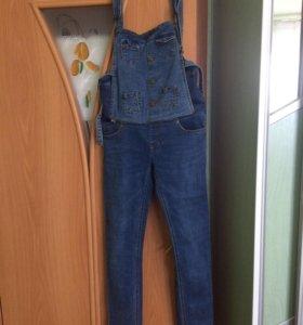 Комбинезон и джинсы 2 в 1 для беременных