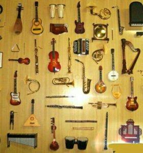 Миниатюры музыкальных инструментов