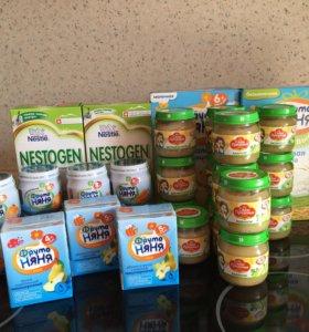 Детское питание, обмен на кашу