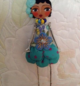 Кулон подвеска кукла