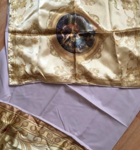 Комплект шелкового постельного белья,новый