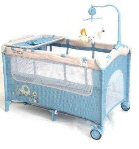 Кровать манеж babyton