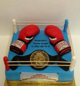 Торт боксеру.