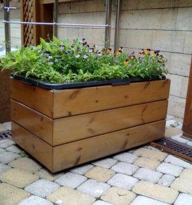 Садовые ящики