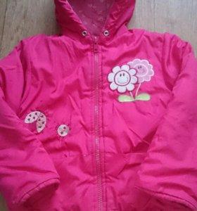 Демизезонная куртка для девочки