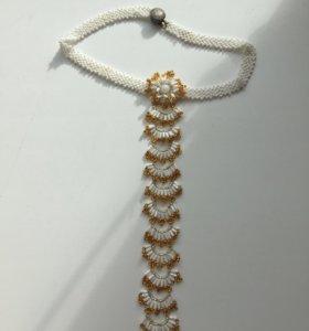 Ожерелье-галстук