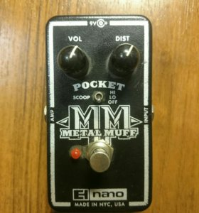 Pocket metal muff(Made in NYC, USA)