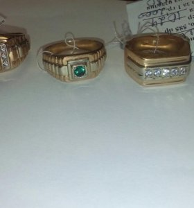 Печатки золото 585