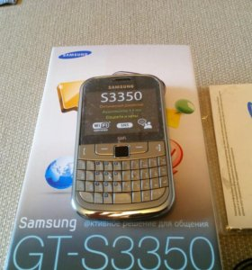 Samsung GT-S3350 Champagne Gold