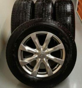 Колеса Диски Infiniti, шины Michelin 265/60 R18