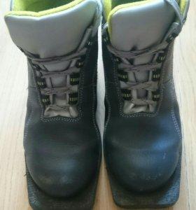 Лыжные ботинки б/у