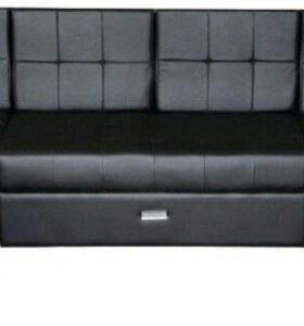 П-образный угловой диван еврокнижка. Новый
