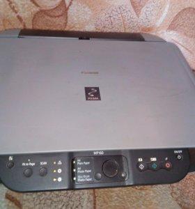 Принтер цветной canon pixna m160