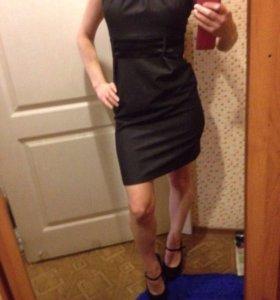Платье классическое + клатч