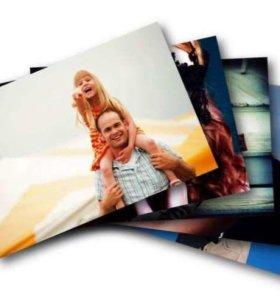Печать фотографий дёшево