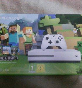 Xbox one S 500 gb новая в коробке