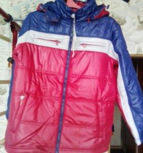 Куртка на синтепоне для мальчика рост 152. Новая