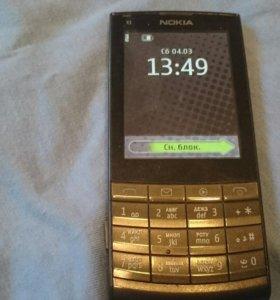 Продаю мобильный телефон Нокиа X3-02
