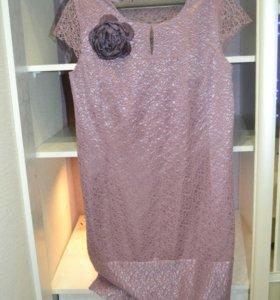Платье,50 р, 1 раз б/у