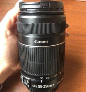 Телеобъектив Canon EFS 55-250mm