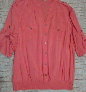 Блузка, размер 48, L