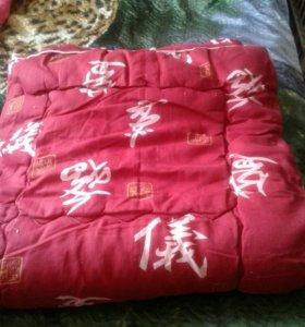 новое одеяло теплое 1,5спальное