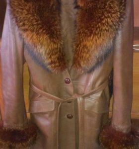 Пальто кож.