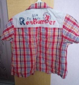 Детская рубашка до 1,5 года