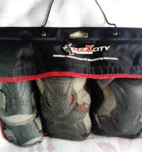 Набор роликовой защиты OFFICIAL, MaXcity
