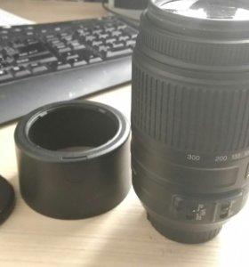 Объектив Nikon Nikor 55-300 mm f/4,5-5,6