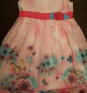 Платье для девочки 4-5-6лет