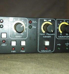 Внешняя звуковая карта Focusrite saffire 6 usb