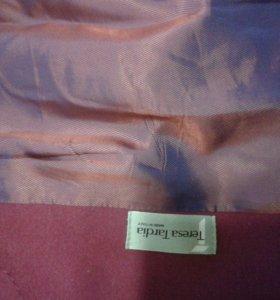 Кашемировое пальто демисезонное Италия
