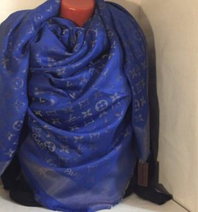 Новая шаль LV платок