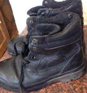 Кожа мужские ботинки