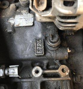 Двигатель Субару легаси 2 литра в заборе