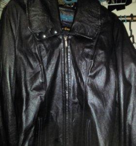Куртка кожаная молодёжная