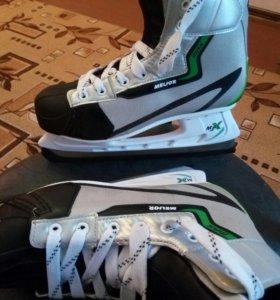 Коньки хоккейные MELIOR max SIZE:43