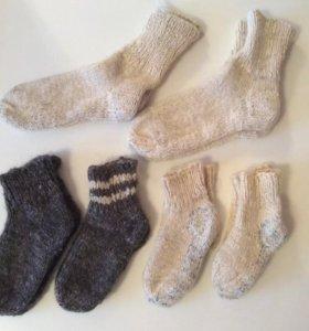 Носки шерстяные для взрослых