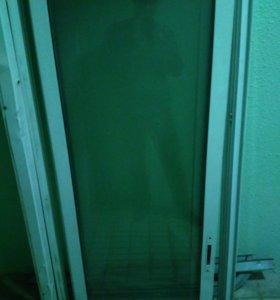 Алюминиевый профиль, демонтированные окна