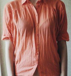 Полупрозрачная рубашка