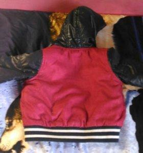 Курточка на мальчика 80-86