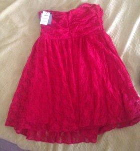 Красное платье Asos