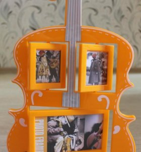 Фото рамка скрипка
