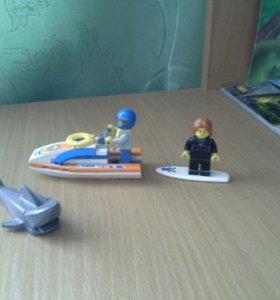 Лего береговая охрана.
