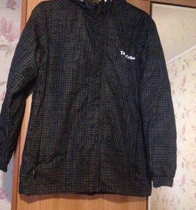 Куртка весенняя 158 размер на мальчика