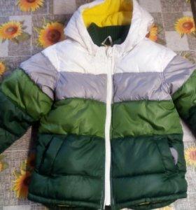 Курточка зимняя + шапка в подарок