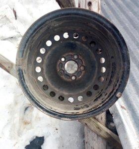 Штампованные диски R16 оригинал Форд