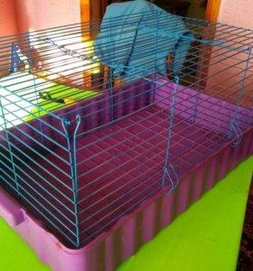 Клетка для морских свиней или кроликов.