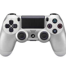 Геймпад DualShock 4 для PlayStation 4 ( Silver )